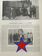 1903 FONTAINEBLEAU - L'ENSEIGNEMENT AGRICOLE À LA CASERNE - Libros, Revistas, Cómics