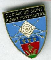 Pin's Tir à L'arc Archery Saint Pierre Montmartre Paris - Tir à L'Arc