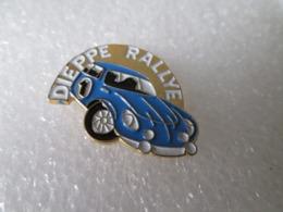 PIN'S   ALPINE   RENAULT  A 110 BERLINETTE   DIEPPE  RALLYE - Rally