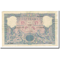 France, 100 Francs, Bleu Et Rose, 1898-02-08, TB, Fayette:21.11, KM:65b - 1871-1952 Anciens Francs Circulés Au XXème