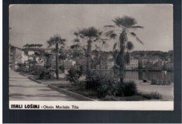 CROATIA Mali Losinj Obala Marsala Tita Ca 1930 Old Photo Postcard - Croacia