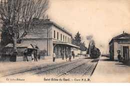 30 . N° 54774.saint Gilles Du Gard.gare.train Locomotive - Saint-Gilles