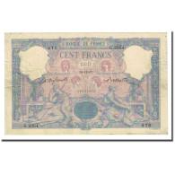 France, 100 Francs, Bleu Et Rose, 1897-11-19, TB+, Fayette:21.10, KM:65b - 1871-1952 Anciens Francs Circulés Au XXème