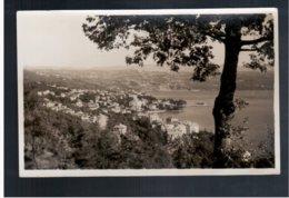 CROATIA Abbazia 1937 Old Photo Postcard - Croacia