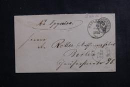 RUSSIE - Entier Postal Pour L' Allemagne En 1880, Oblitérations Plaisantes - L 46281 - Enteros Postales