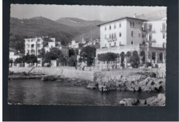 CROATIA Abbazia Opatija 1953 Old Photo Postcard - Croacia