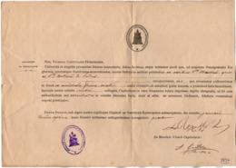 VP16.038 - 1894 - Document En Latin - POITIERS - Godsdienst & Esoterisme