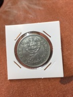 Saint-Thomas & Prince SAO TOME E PRINCIPE STP 50 Centavos 1929 Nickel-Bronze  A 24 - Sao Tome And Principe
