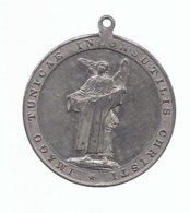 MEDAILLE 1891 IMAGO TUNICAE INCONSUTILIS CHRISTI DOM KIRCHE IN TRIER - Religion & Esotérisme