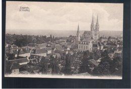 CROATIA Zagreb Ca 1910 Old Postcard - Croacia