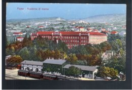 CROATIA Fiume - Academia Di Marina Ca 1920 Old Postcard - Croacia