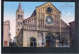 CROATIA Zara Duomo S. Anastasia Ca 1920 Old Postcard - Croacia