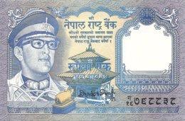 NEPAL 1 RUPEE ND1974 UNC P 22 - Nepal