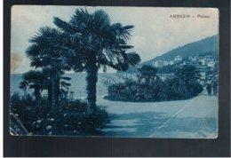 CROATIA Abbazia Palma 1928 Old Postcard - Croacia