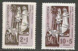 Argentina - 1961 Child Welfare MNH **   Sc B38-9 - Ongebruikt