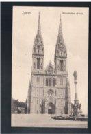 CROATIA Zagreb Prvostolna Crkva Ca 1920 Old Postcard - Croacia