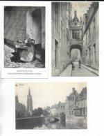BELGIQUE - Lot De 3 C.P. De BRUGES  ( Brugge ) -  1° Vieille Dentellière. 2° Rue De L' Ane Aveugle. 3° Bruges - Brugge