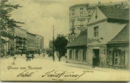 AK GERMANY - BERLIN - GRUSS AUS RIXDORF - ROLLKRUG - 1900s (5494) - Rixdorf