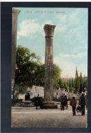 CROATIA Zara Antica Colonna Romana Ca 1920 Old Postcard - Croacia