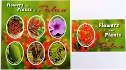 # Palau 2015  Flowers & Plants ,  MNH [12;156] - Pflanzen Und Botanik