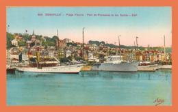 A697 / 011 14 - DEAUVILLE Port De Plaisance Et Les Ycahts ( Bateau ) - Francia