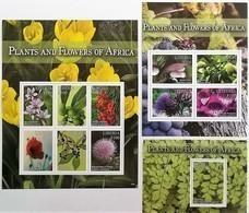 # Liberia 2016**Mi.6897-6907 African Plants And Flowers , MNH  [17II;50,51] - Vegetales