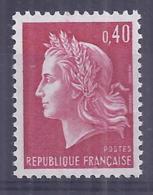 Francia 1970. YT = 1643 - Nuevo Sin Fijasellos (**). Marianne - Francia