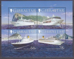 2008Gibraltar1285-88/B85Ships6,80 € - Barche
