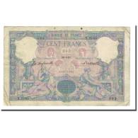 France, 100 Francs, Bleu Et Rose, 1897-04-29, TB, Fayette:21.10, KM:65b - 1871-1952 Anciens Francs Circulés Au XXème