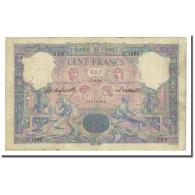 France, 100 Francs, Bleu Et Rose, 1893-04-15, TB, Fayette:21.6, KM:65b - 1871-1952 Anciens Francs Circulés Au XXème