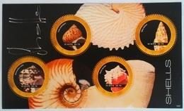 St. Kitts 2007**Mi.1286-89 Shells , MNH [4;7] - Schelpen
