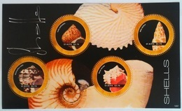 St. Kitts 2007**Mi.1286-89 Shells , MNH [4;7] - Coneshells
