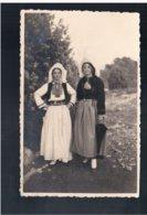 CROATIA Dubrovnik Narodna Nošnja 1936 Old Photo Postcard - Croacia