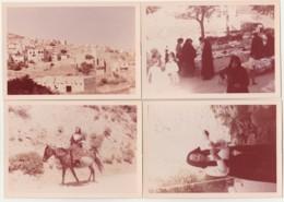 SARDEGNA - SARDAIGNE (ITALIE ) ENSEMBLE DE 10 PHOTOS  DE 1964 - SCENE DE MARCHE - COSTUMES - FOLKLORE (TOUS  LES SCANS) - Italia