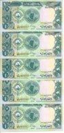 SOUDAN 1 POUND 1987 UNC P 39 ( 5 Billets ) - Sudan