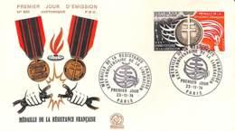 NB - [405175]B/TB//-France  - Médaille De La Résistance Française, Anniversaire De La Libération - Militaria