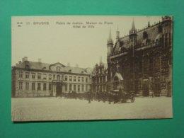 Brugge Bruges Palais De Justice Maison Du Franc Hotel De Ville Nr 10 - Brugge