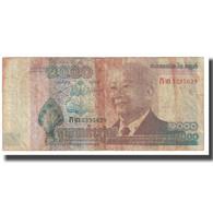 Billet, Cambodge, 1000 Riels, KM:63a, TB - Cambogia