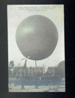 CPA Aéronautique - Coupe Gordon Bennett 1906 Les Deux Amériques Montgolfières Pilotés Par Santos Dumont  Broglie Eure - Manifestations