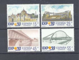Año 1991 Nº 3100/3 Exp. Universal De Sevilla - 1931-Hoy: 2ª República - ... Juan Carlos I
