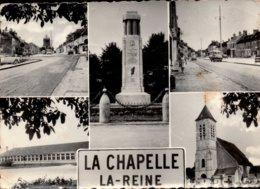 Dep 77 , Cpm La CHAPELLE LA REINE  , Multivues (12487) - La Chapelle La Reine