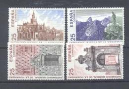 Año 1991 Nº 3146/9 Bienes Culturales - 1931-Hoy: 2ª República - ... Juan Carlos I