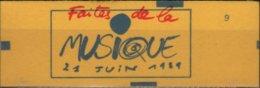 ART 138 - FRANCE Carnet N+ 2376-C-8 Neuf Fermé Fête De La Musique - Libretti
