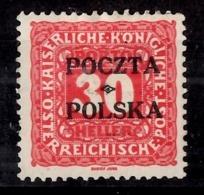 Pologne Timbre-taxe YT N° 6 Neuf *. Signé. B/TB. A Saisir! - Portomarken