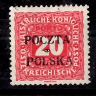 Pologne Timbre-taxe YT N° 4 Neuf *. Signé. B/TB. A Saisir! - Portomarken
