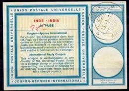 INDE / INDIA Vi18 ms. 98 / 63 PAISEInternational Reply Coupon Reponse Antwortschein IRC IAS o AMRITSAR 13.1.67 - Sin Clasificación