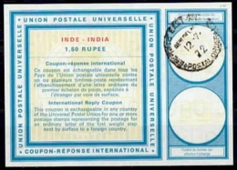 INDE / INDIA Vi20 1,50 RUPEE International Reply Coupon Reponse Antwortschein IRC IAS o NEW DELHI 12.7.72 - Sin Clasificación