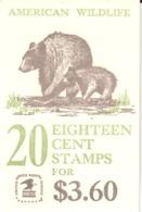 USA Booklet - Bear - Bears - American Wildlife - Sin Clasificación