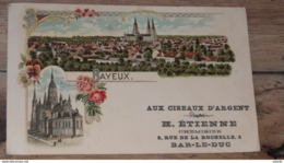 BAYEUX : Carte Publicitaire Avis De Passage  ………MZ2-3504 - Bayeux