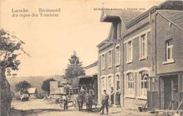 BA005 Laroche Berismenil Au Repos Des Touristes Ca 1915 - La-Roche-en-Ardenne